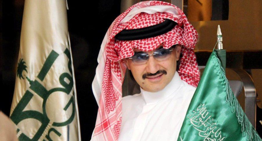 الأمير السعودي ورجل الأعمال الوليد بن طلال