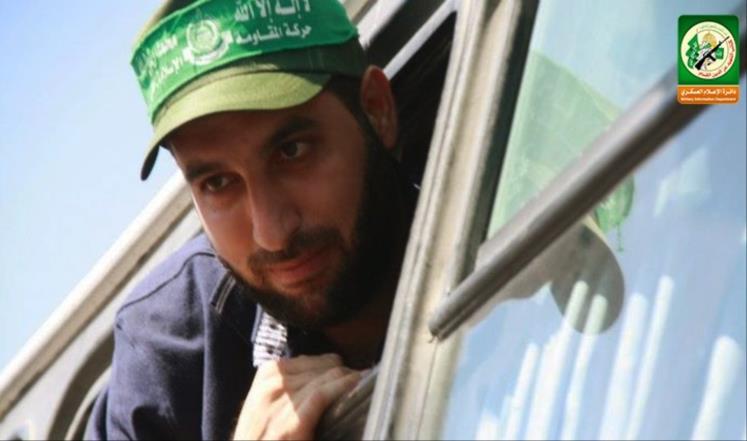 صورة من موقع كتائب القسام لمازن فقهاء المفرج عنه ضمن صفقة مبادلة أسرى فلسطينيين بالجندي الإسرائيلي جلعاد شاليط