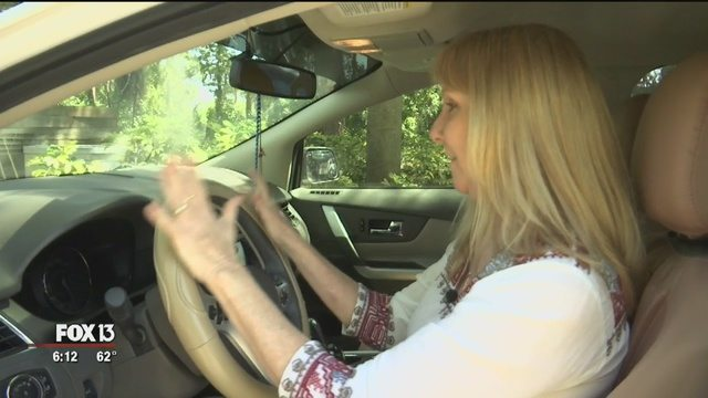 Snake slithers from A/C vent of Venice woman's car - Story | FOX 13 Tampa Bay