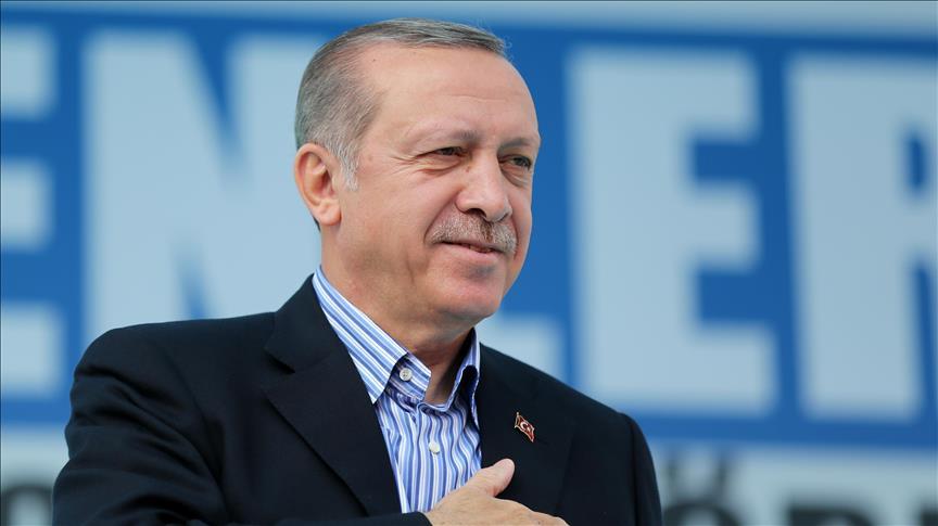 الرئيس التركي رجب طيب أردوغان (Metin Pala - وكالة الأناضول)