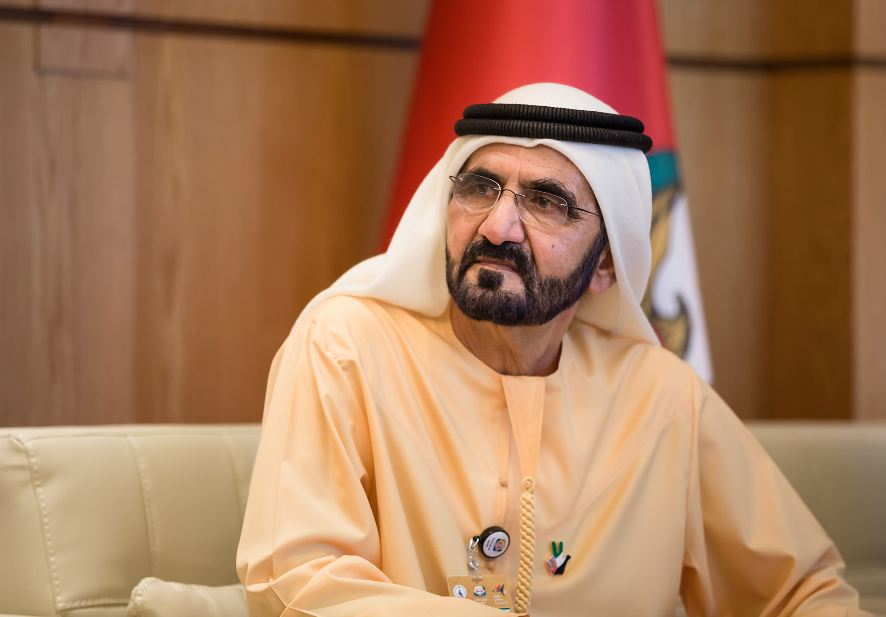 نائب رئيس الإمارات الشيخ محمد بن راشد