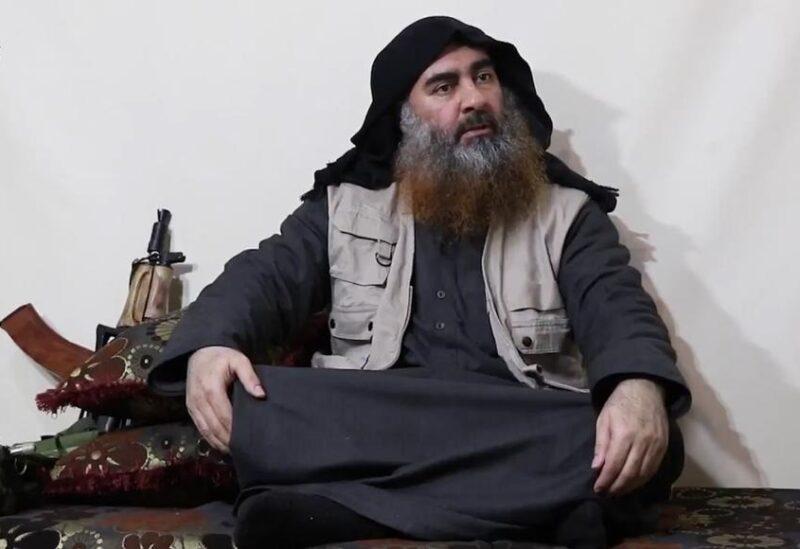 صورة أرشيفية لـ أبو بكر البغدادي زعيم تنظيم الدولة الإسلامية