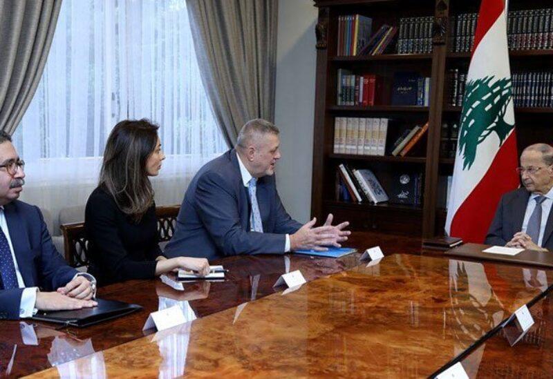 المنسق الخاص للأمم المتحدة في لبنان يان كوبيش