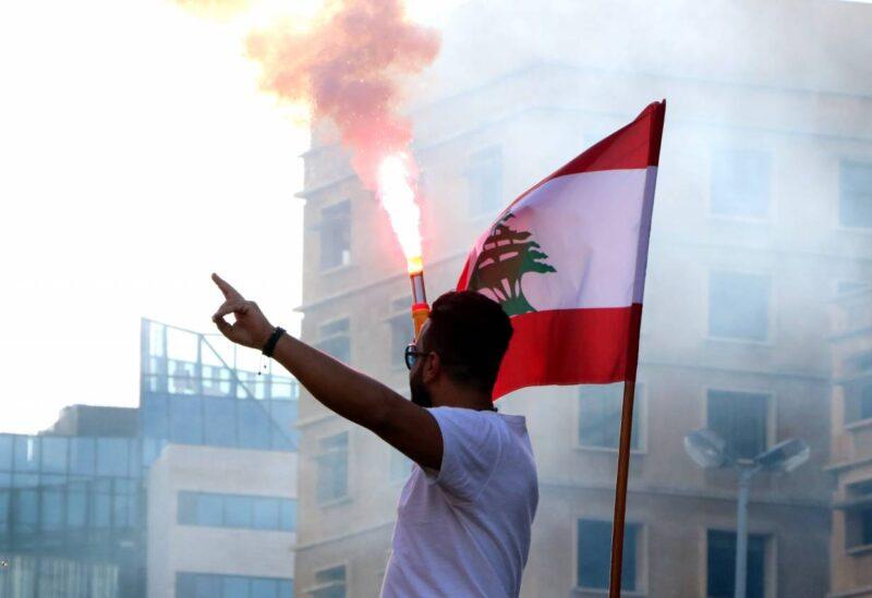صورة من ثورة لبنان