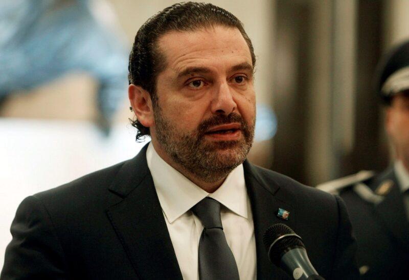 رئيس الحكومة السابق سعد الحريري
