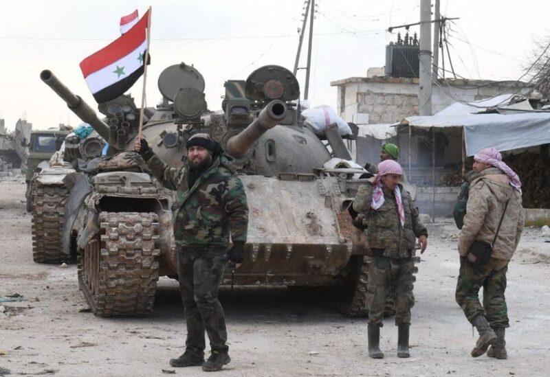 أرشيفية لعناصر من الجيش السوري