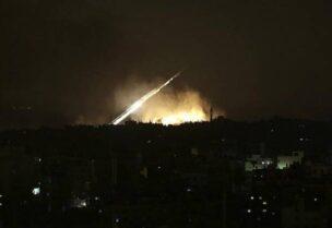 قصف مواقع إيرانية في سوريا-أرشيفية