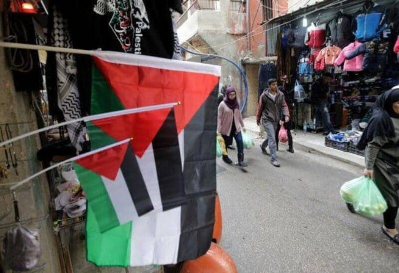 مخيم للاجئين الفلسطينيين في لبنان