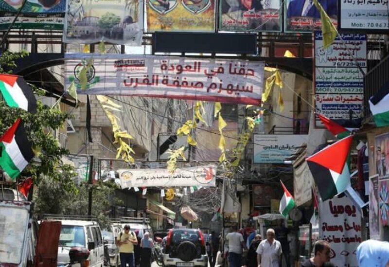 مخيمات اللاجئين الفلسطينين في لبنان