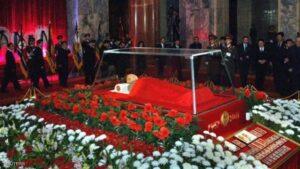 جثمان والد زعيم كوريا الشمالية