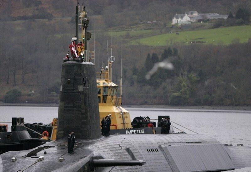 غواصة بريطانية نووية