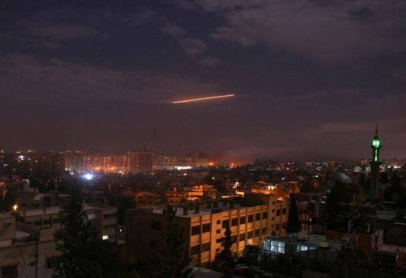 قصف إسرائيلي على دمشق