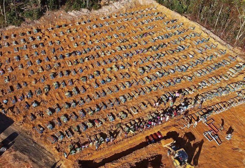 مقبرة كورونا في البرازيل