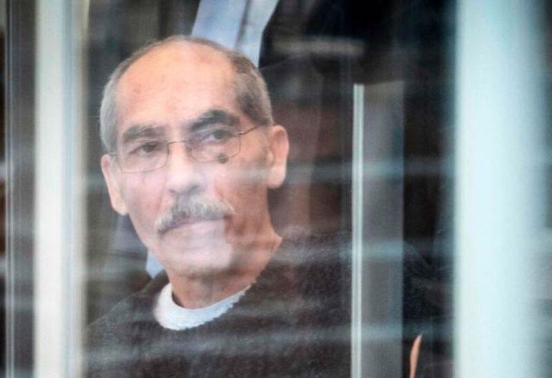 المتهم أنور رسلان كما ظهر في قفص الاتهام