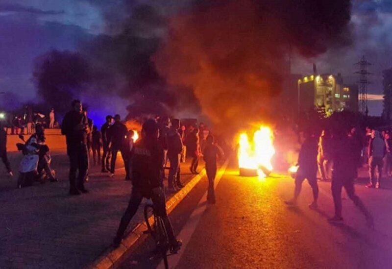 احتجاجات في الشارع على خلفية الأوضاع المعيشية المتردية