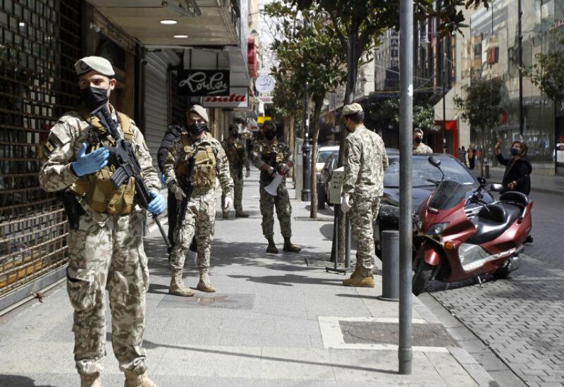 الجيش اللبناني في الأسواق اللبنانية