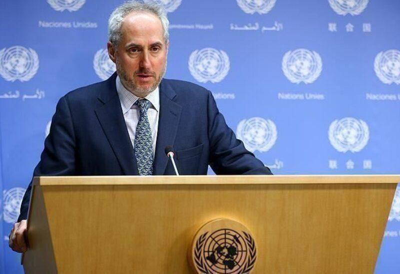 المتحدث باسم الأمين العام للأمم المتحدة، ستيفان دوجاريك