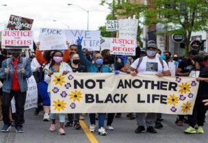 مظاهرات ضد العنصية في كندا