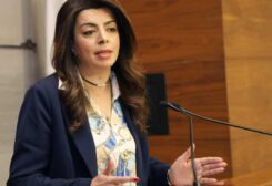 وزيرة المهجرين غادة شريم