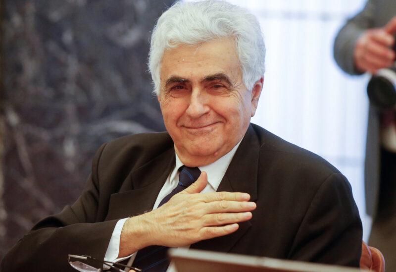 وزير الخارجية اللبناني ناصيف حتي