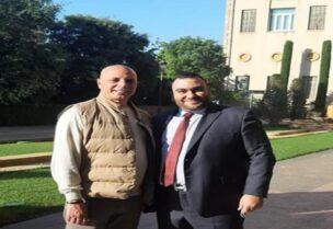 أحمد هاشمية إلى جانب محمد يموت أعضاء تيار المستقبل