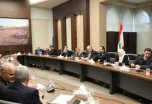 سعد الحريري في اجتماع لكتلة تيار المستقبل