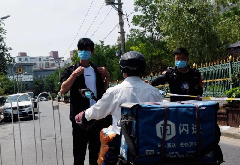 بكين تسجل مئات الاصابات الجديدة بكورونا