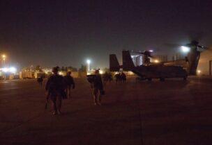 سقوط صاروخ في مطار بغداد