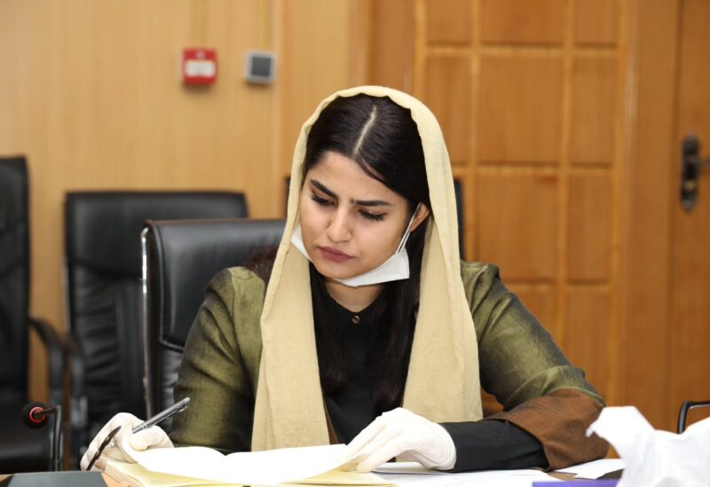عضو النواب الأفغاني مريم سما
