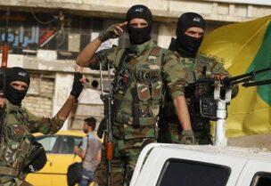 عناصر من ميليشيا حزب الله العراقي