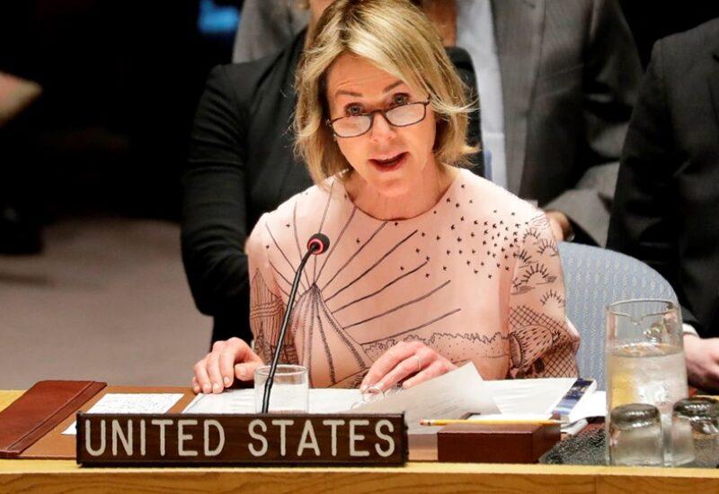 السفيرة الأميركية في الأمم المتحدة كيلي كرافت