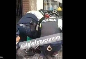 وفاة رجل خلال إعتقاله بالأرجنتين