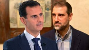 رامي محمد مخلوف وبشار الأسد