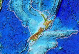 رسم أول خريطة لقارة زيلانديا