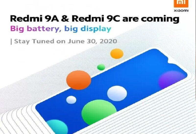 شاومي تحدد موعد الإعلان عن Redmi 9A و Redmi 9C