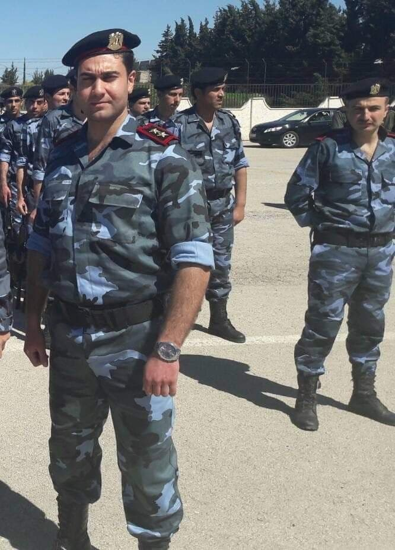 قاتل قريبتي الأسد الملازم أول في جيشه وئام زيود