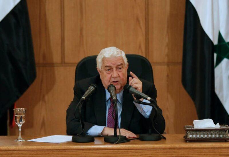 وزير خارجية سوريا وليد المعلم