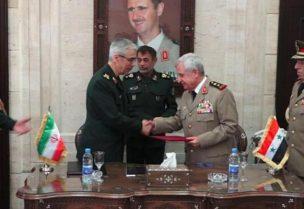 أرشيفية لتوقيع الاتفاقية العسكرية بين إيران وسوريا