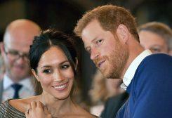 الأمير هاري وزوجته ميغان