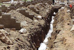 الحوثي يدفن مئات الجثث المجهولة الهوية