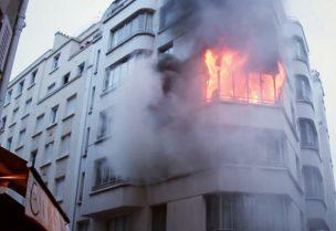 حريق في مبنى - أرشيفية