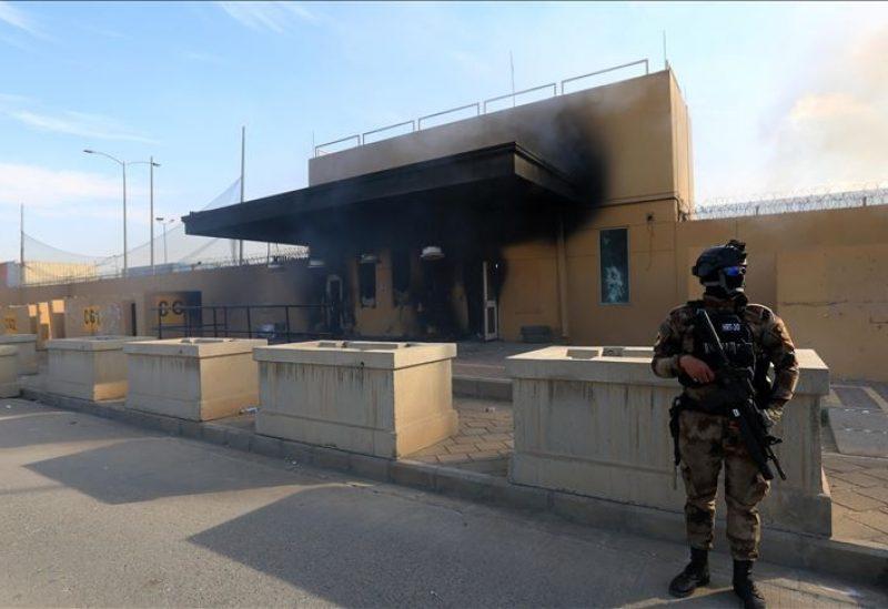 سقوط صواريخ على قاعدة عسكرية في بغداد