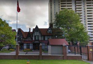 مبنى السفارة التركية في كندا