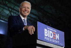 مرشح الحزب الديمقراطي للانتخابات الرئاسية جون بايدن