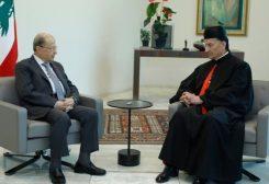 رئيس الجمهورية استقبل البطريرك الماروني