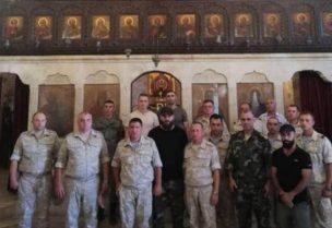 نابل العبد لله قائد مليشيا الدفاع الوطني غربي حماة