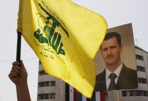 """""""حزب الله"""" يربط مصير لبنان بسوريا."""