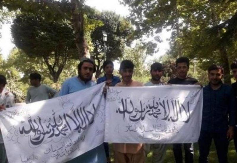 أنصار طالبان في حديقة بطهران