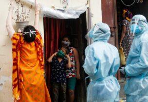 ارتفاع إصابات كورونا بالهند