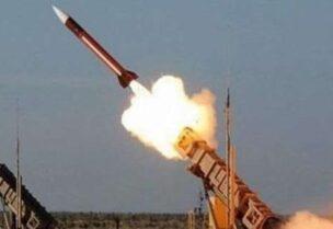 اعتراض صواريخ باليستية حوثية باتجاه السعودية